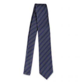Cravate à rayures et poids 100% soie homme MANOUKIAN
