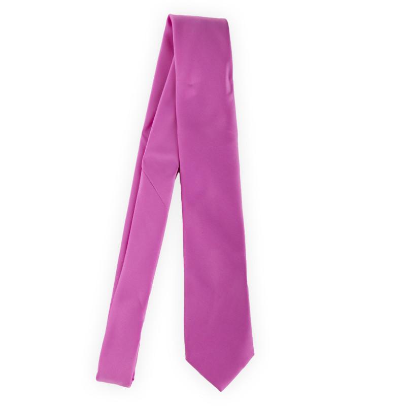 Cravate unie 100% soie homme MANOUKIAN marque pas cher prix dégriffés destockage