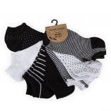 Lot de 7 paires de socquettes Erin femme NAF-NAF marque pas cher prix dégriffés destockage