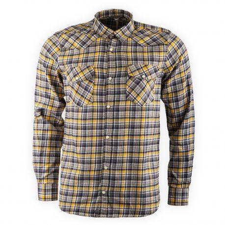 Chemise à carreaux en flanelle CHLW2638H Homme BEST MOUNTAIN marque pas cher prix dégriffés destockage