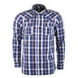 Chemise à carreaux manches longues Homme BEST MOUNTAIN marque pas cher prix dégriffés destockage