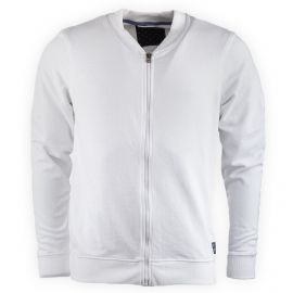 Sweat zippé blanc SWS1708H Homme BEST MOUNTAIN