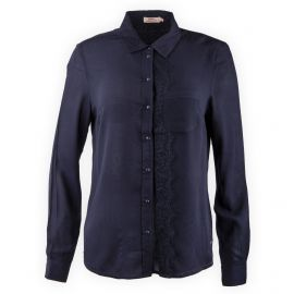 Chemise manches longues broderie Femme DDP