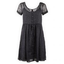 Robe plissée à poids manches courtes Femme DDP marque pas cher prix dégriffés destockage