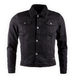 Veste en jean fourrée Homme DEEPEND marque pas cher prix dégriffés destockage