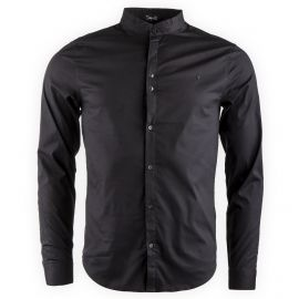 Chemise manches longues col mao homme DEEPEND