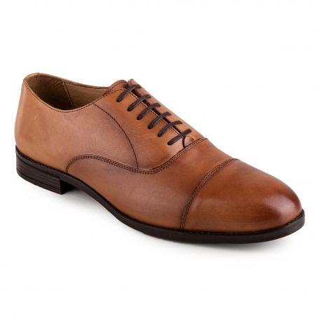 Chaussures Richelieu en cuir Elliot Homme MASON & FREEMAN marque pas cher prix dégriffés destockage