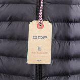 Doudoune noire bi-matière manches longues Femme DDP marque pas cher prix dégriffés destockage