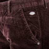 Pantalon chino en velours Femme DDP marque pas cher prix dégriffés destockage