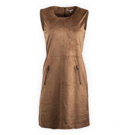 Robe sans manches en suédine Femme BEST MOUNTAIN marque pas cher prix dégriffés destockage