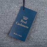 Pull laine cachemire col V coudières homme Real Cashmere marque pas cher prix dégriffés destockage