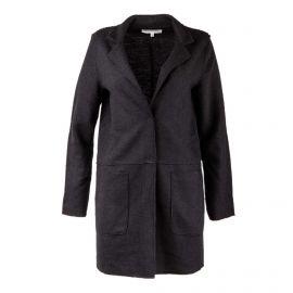 Manteau noir en laine femme Best Mountain