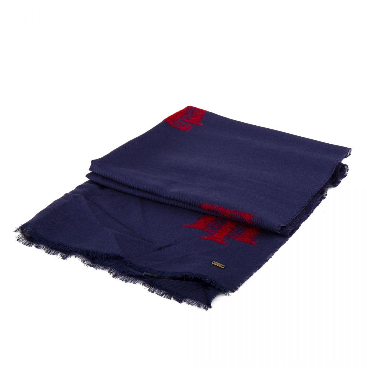 6414a815713 Écharpe fine laine 180cmX65cm femme TOMMY HILFIGER marque pas cher prix  dégriffés destockage ...