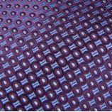 Coffret Cravate en soie & Boutons de manchette violet Homme TORRENTE marque pas cher prix dégriffés destockage