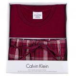 Coffret ensemble pyjama rouge Homme CALVIN KLEIN marque pas cher prix dégriffés destockage