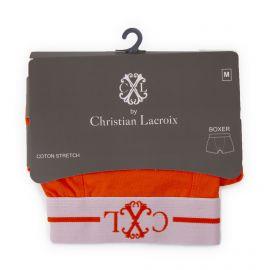 Boxer coton stretch Farell Homme CHRISTIAN LACROIX marque pas cher prix dégriffés destockage