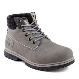 Boots grises Danon Femme ROADSIGN marque pas cher prix dégriffés destockage