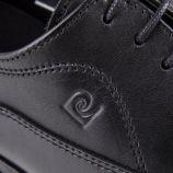 Chaussures derbies noires cuir Crets Homme PIERRE CARDIN marque pas cher prix dégriffés destockage