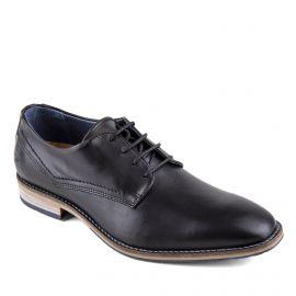 Chaussures derbies noires cuir Homme PIERRE CARDIN marque pas cher prix dégriffés destockage
