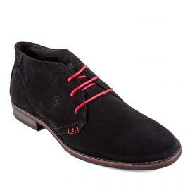 Chaussures derbies noires cuir Isla Homme PIERRE CARDIN marque pas cher prix dégriffés destockage