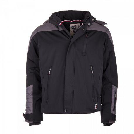 Veste ski Sohan bi-matière capuche Homme NORTH VALLEY marque pas cher prix dégriffés destockage