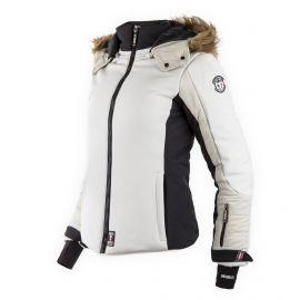 Veste Ski Fibrotech Capuche fourrure Keira Femme NORTH VALLEY marque pas cher prix dégriffés destockage
