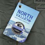 Blouson ski aviateur col fourrure amovible Sana Homme NORTH VALLEY marque pas cher prix dégriffés destockage