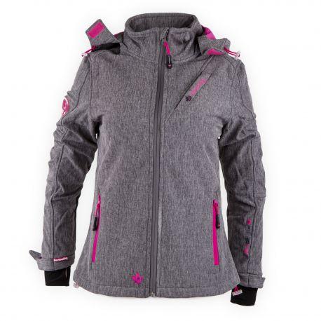 Veste ski Softshell Fibrotec Rima Femme NORTH VALLEY marque pas cher prix dégriffés destockage