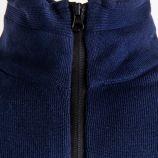 Gilet zippé bleu marine Homme TORRENTE marque pas cher prix dégriffés destockage