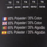 Boxer x3 unis coton hs75019 AZERTEX marque pas cher prix dégriffés destockage