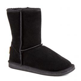 Boots fourrées noires Snow Femme LES TROPEZIENNES