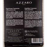 Drap housse taupe 160x200cm 100% percale de coton AZZARO marque pas cher prix dégriffés destockage
