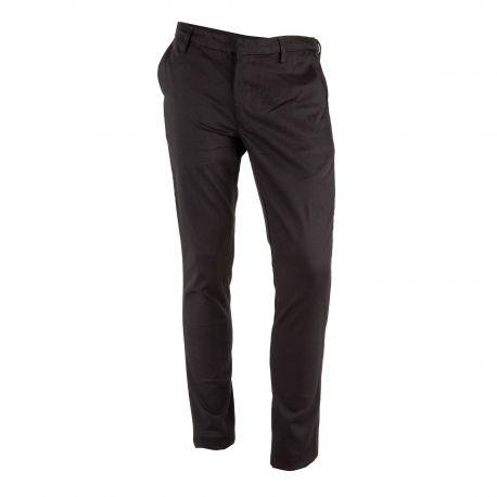 Pantalon chino noir homme AMERICAN VINTAGE marque pas cher prix dégriffés destockage