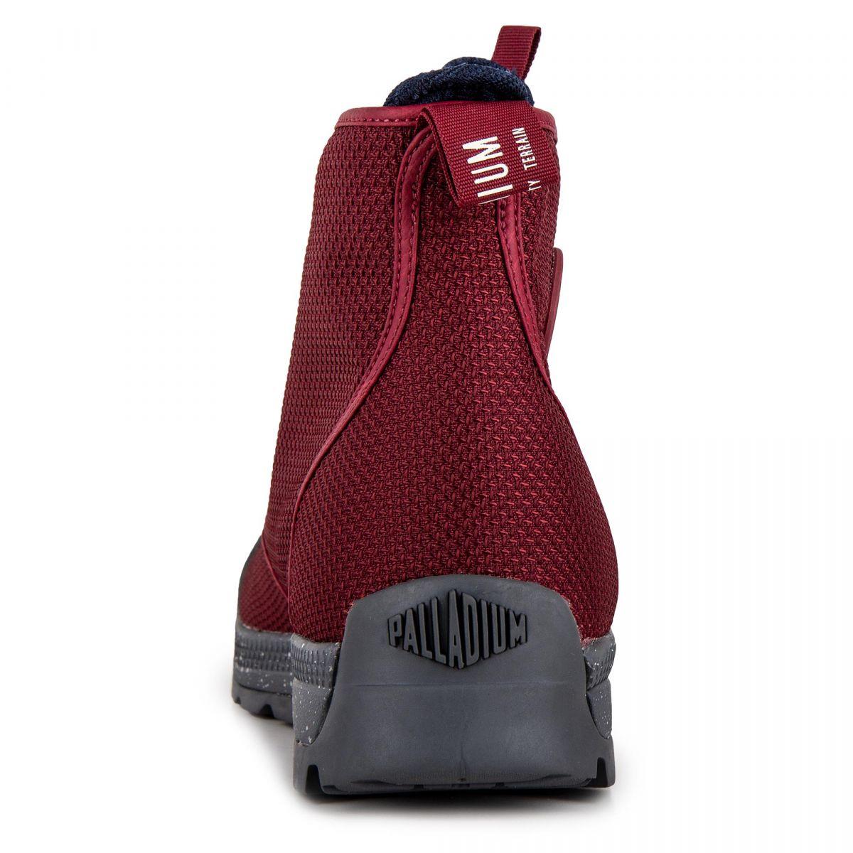 Montantes Rouge Chaussures Palladium Homme Pampatech Hi Tx À Prix n0wOPk8X