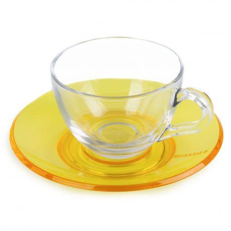 Tasse + sous tasse GUZZINI marque pas cher prix dégriffés destockage