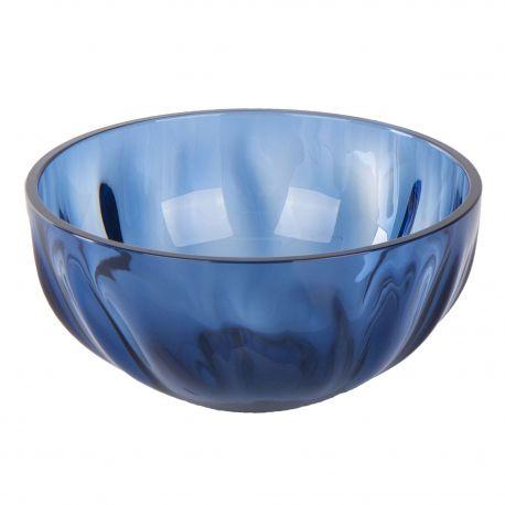 Petit bol bleu en plexiglas 12 cm GUZZINI marque pas cher prix dégriffés destockage