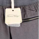 Pantalon fluide en crêpe femme Magdalena AMERICAN VINTAGE marque pas cher prix dégriffés destockage