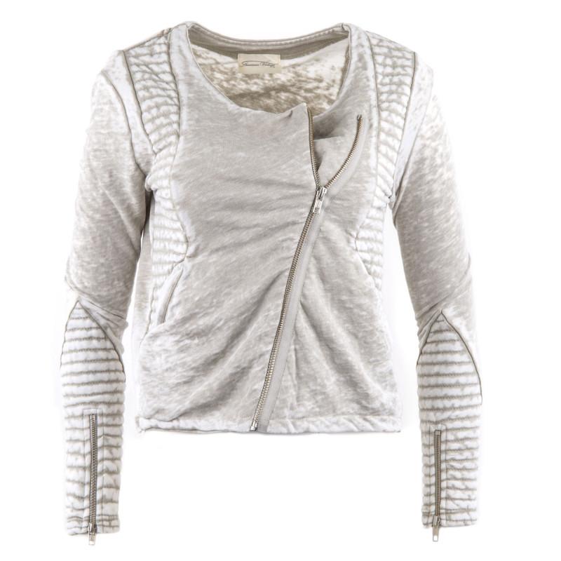 Veste perfecto zippée femme Rexbourg AMERICAN VINTAGE marque pas cher prix dégriffés destockage