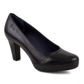 Escarpins en cuir noir femme Blesa Sugar Negro DORKING marque pas cher prix dégriffés destockage