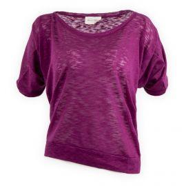 Tee shirt basique manches courtes femme AMERICAN VINTAGE marque pas cher prix dégriffés destockage