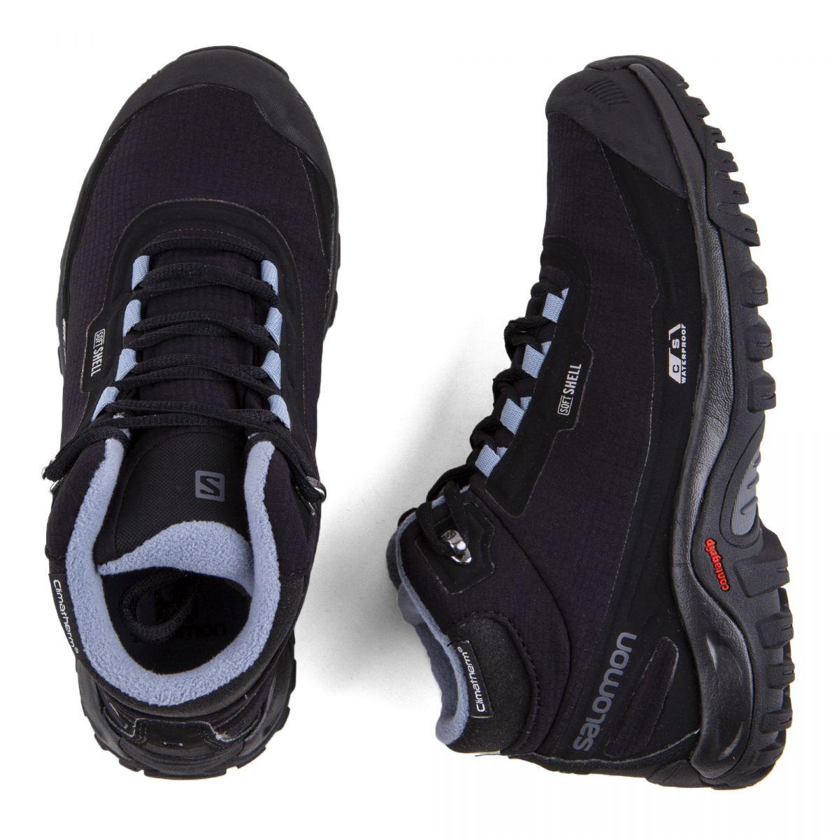 Chaussures De Waterproof Randonnées Shelter Cs Femme À Wp Salomon tQrCosxdBh