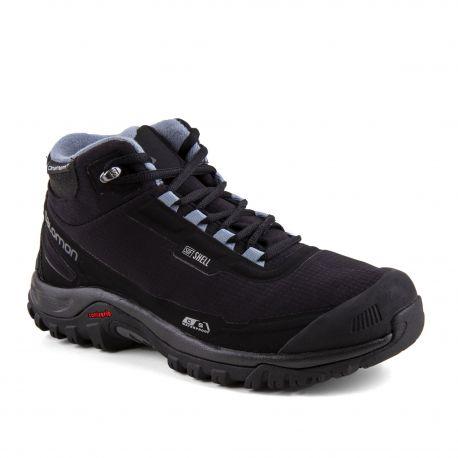 Chaussures de randonnées waterproof femme Shelter CS WP SALOMON marque pas cher prix dégriffés destockage