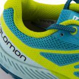 Baskets bleu turquoise Sense Escape mixte SALOMON marque pas cher prix dégriffés destockage