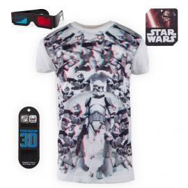 Tee shirt Star Wars 3D Relief Clone Trooper Enfant FREEGUN