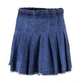 Jupe plissée en jean femme BEST MOUNTAIN marque pas cher prix dégriffés destockage
