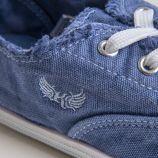 Tennis bleu jean enfant Desma KAPORAL marque pas cher prix dégriffés destockage