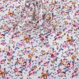 Robe blanche imprimé fleuri femme BEST MOUNTAIN marque pas cher prix dégriffés destockage