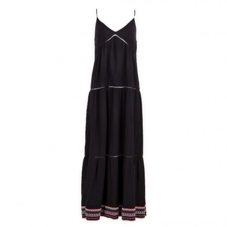 Robe longue rayée femme TOMMY HILFIGER