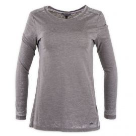 Tee shirt uni manches longues femme TOMMY HILFIGER