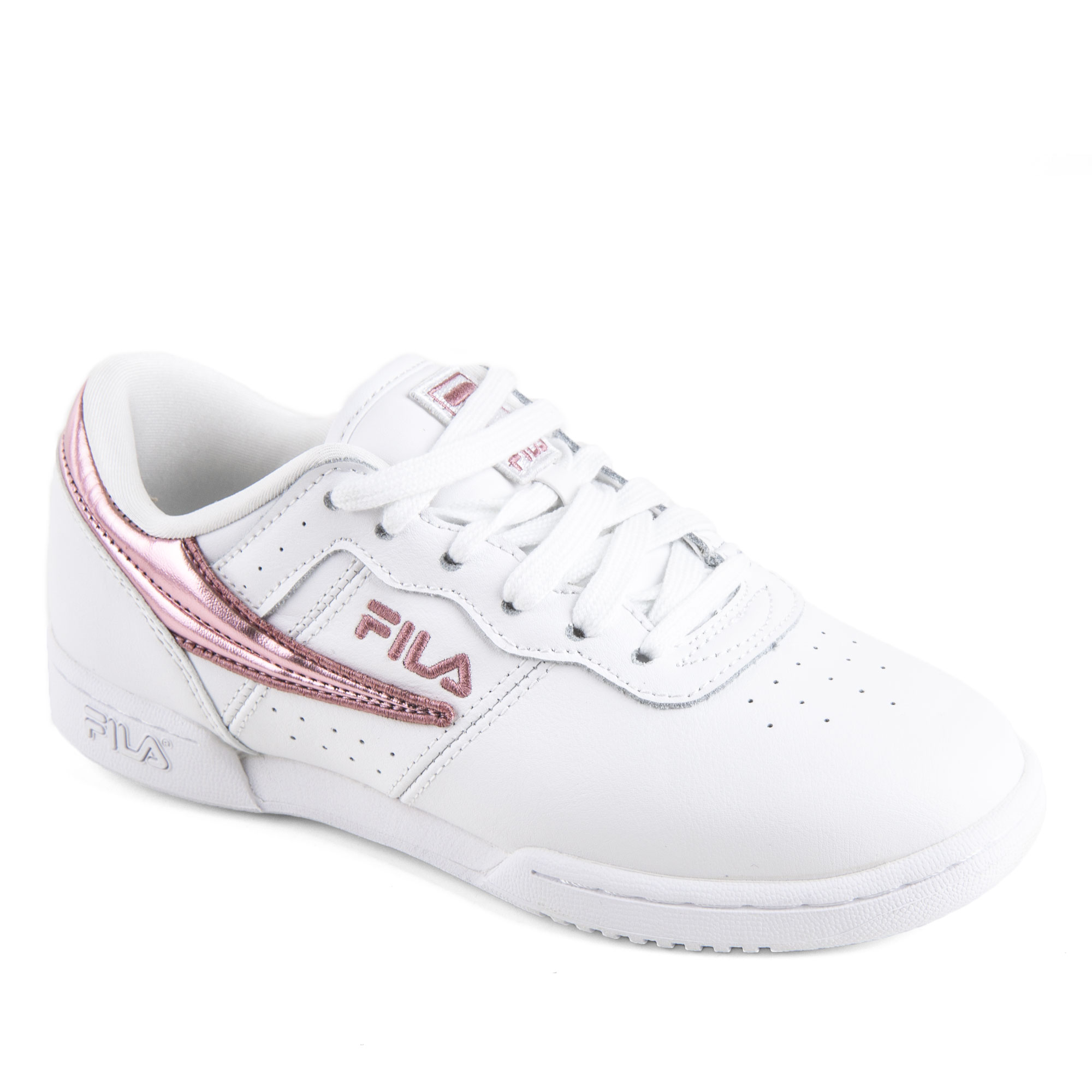 reasonably priced fashion new styles Baskets blanches et roses femme Original Fitness F WMN FILA